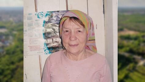 В Воронежской области пропала 66-летняя женщина