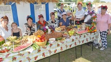 На арбузном фестивале в Петропавловском районе выбрали самую большую ягоду