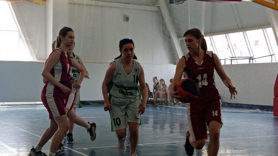 Каменские баскетболистки завоевали «бронзу» на областных соревнованиях