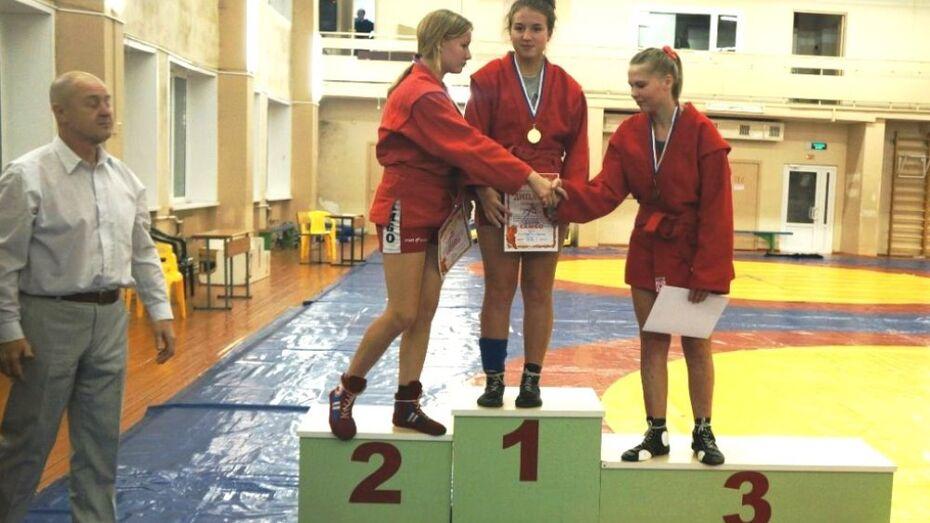 Хохольская самбистка завоевала «золото» на всероссийском турнире