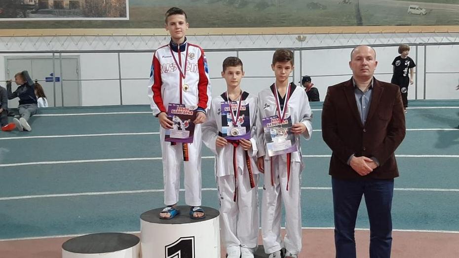 Калачеевский тхэквондист завоевал «золото» всероссийского турнира в Белогорье