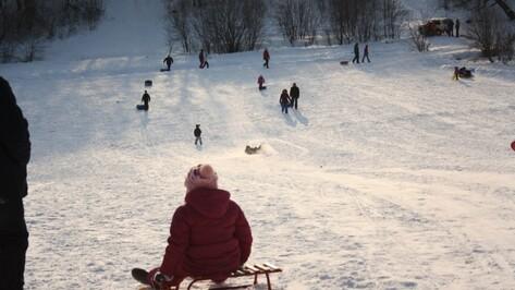 Воронежские полицейские проверят снежные горки перед зимними каникулами