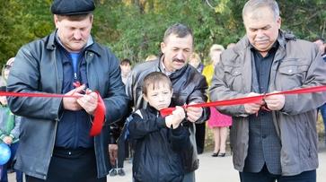В Кантемировском районе открыли многофункциональную спортплощадку
