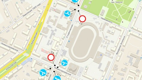 Власти Воронежа сообщили о перекрытии улицы Студенческой во время матчей «Факела»