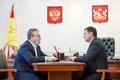 Председатель облдумы и мэр Воронежа обсудили улучшение городской инфраструктуры