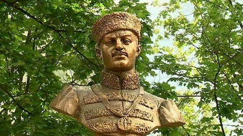 Памятник олимпийскому чемпиону из Воронежской области открыли в Москве