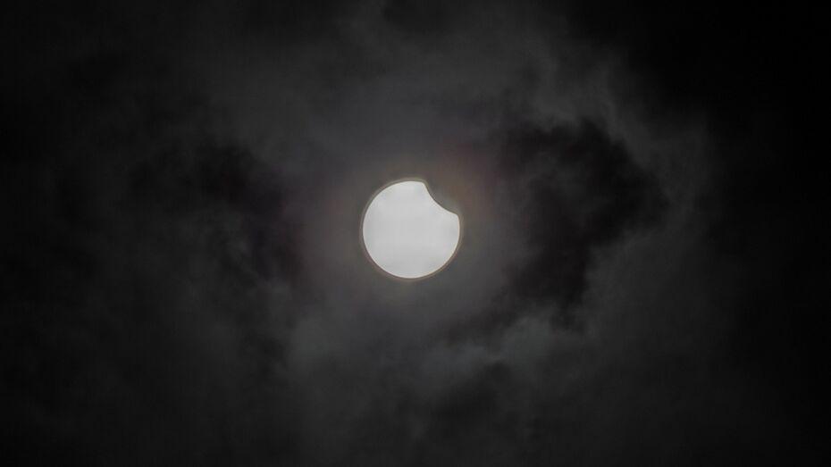 Павловский дизайнер сфотографировал солнечное затмение
