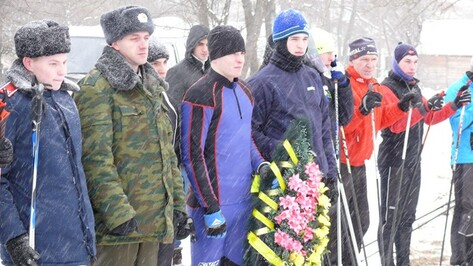 Рамонские кадеты пробежали 30 километров на лыжах в честь 71 годовщины освобождения Воронежа