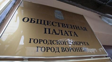 Общественная палата Воронежа соберется в новом составе 17 декабря