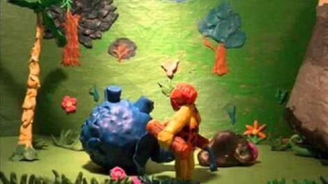 Воронежский школьник подарил музею-заповеднику «Костенки» собственный мультфильм