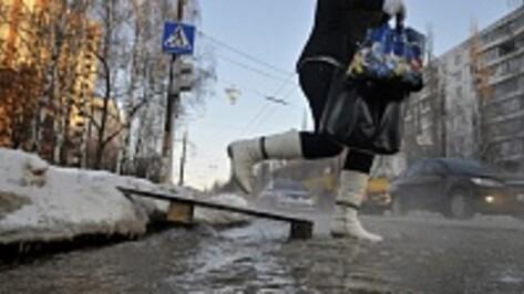 На Левом берегу Воронежа прорвало канализацию