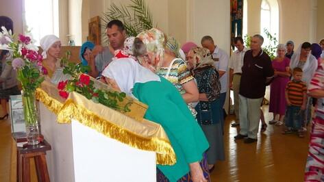 Верхнемамонцы поклонились Вышинской иконе Казанской Божией матери