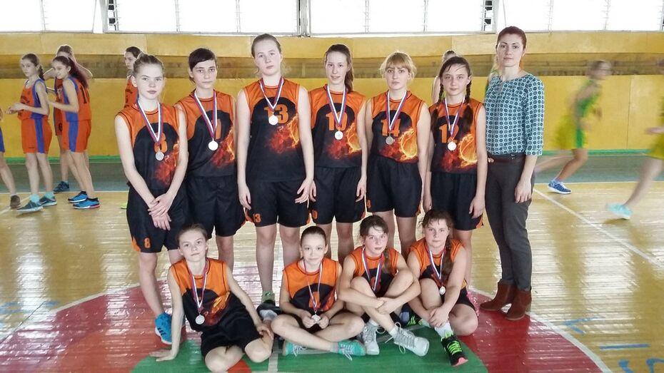 Острогожские баскетболистки завоевали «серебро» на областном первенстве