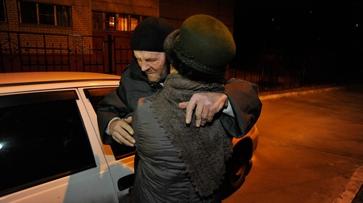 Фото РИА «Воронеж». Как встретили освобожденного из рабства Петра Никулина