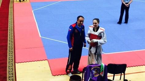 Воронежские тхэквондисты взяли две медали чемпионата России