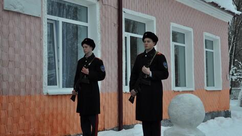 Под Воронежем открыли памятную доску погибшему спецназовцу ФСБ