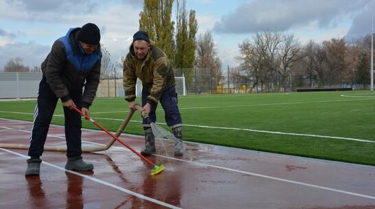 В кантемировском селе Митрофановка построили стадион