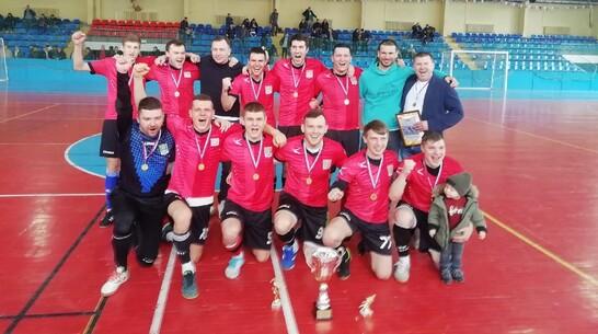 Поворинский футбольный клуб впервые за 6 лет победил на областном турнире