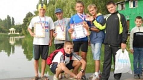 Рамонские кадеты завоевали семь медалей на первенстве области по гребле на байдарках и каноэ