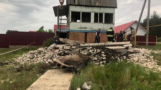 Прокуратура взяла под контроль проверку гибели под завалом детей в Воронежской области