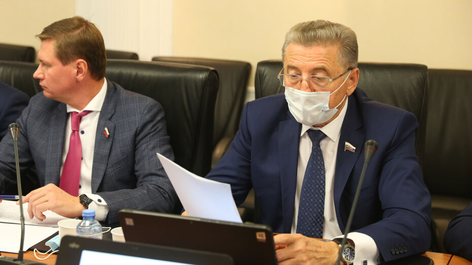 Полномочия воронежского сенатора Сергея Лукина в Совете Федерации вновь подтвердили
