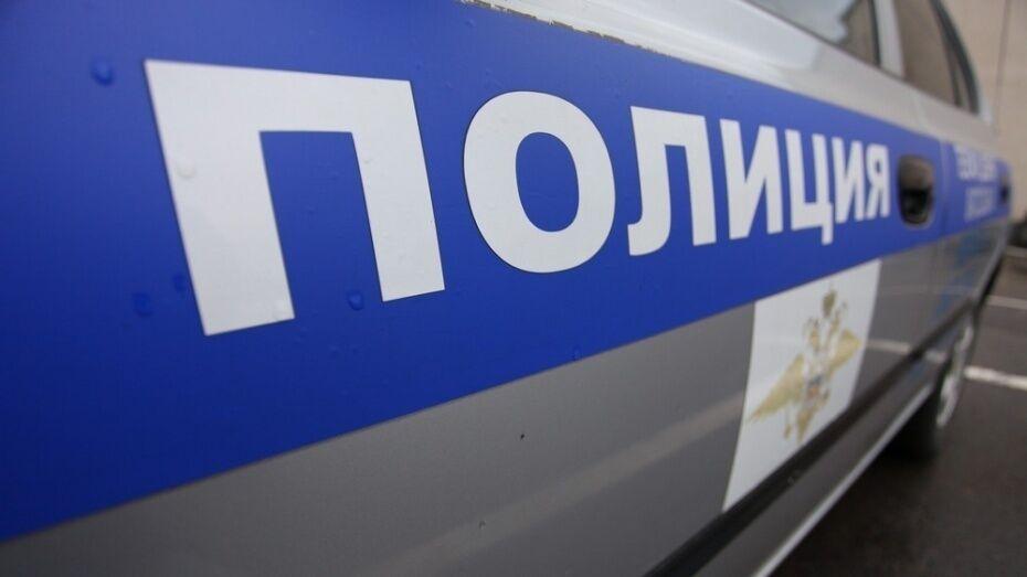 В Воронежской области служебная собака вышла на след подозреваемого в ограблении