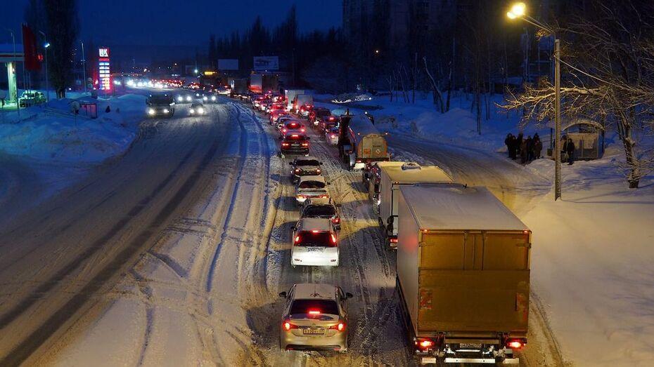 Начальник ГИБДД Воронежской области назвал самые опасные участки дорог