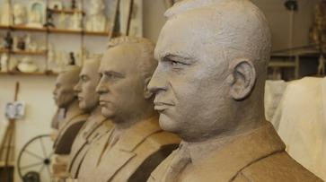 Бюсты прославленных воронежцев на Аллее Героев выполнят из бронзы