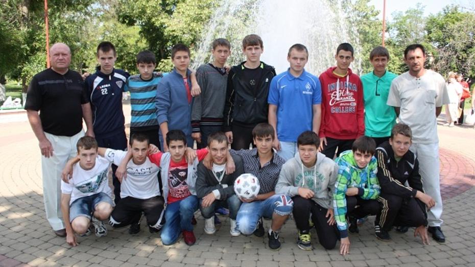 Богучарские футболисты – лучшие в ЦФО