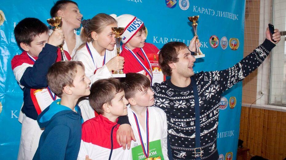 Юные каратисты из Семилук стали победителями первенства Липецкой области