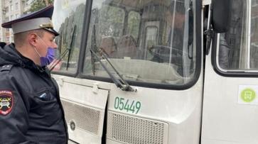 В Воронеже задержали водителя автобуса без прав