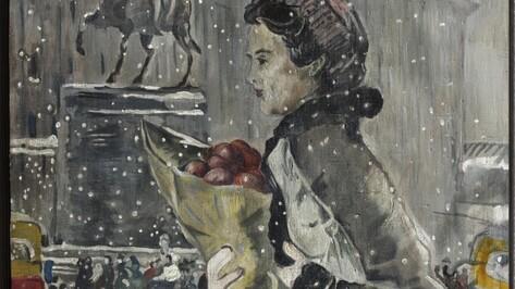 Воронежцы увидят знаменитую картину Юрия Пименова «Зимой в Москве»