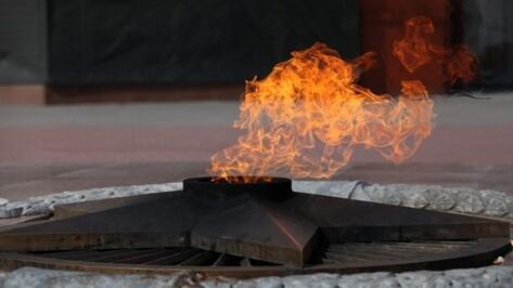 Огонь от памятника Неизвестному солдату в Москве прибудет в Воронеж 8 мая