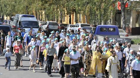 Воронежская епархия напомнила об отмене крестного хода до Задонска