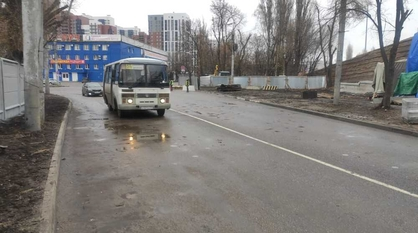 Открыли движение под виадуком на улице 9 Января в Воронеже