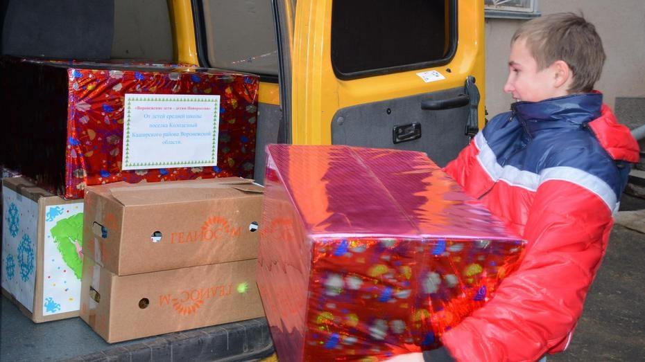 Каширцы собрали для детей Новороссии  39 посылок с подарками
