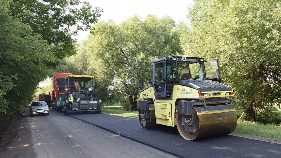 В грибановском поселке на ремонт дорог потратили 4 млн рублей