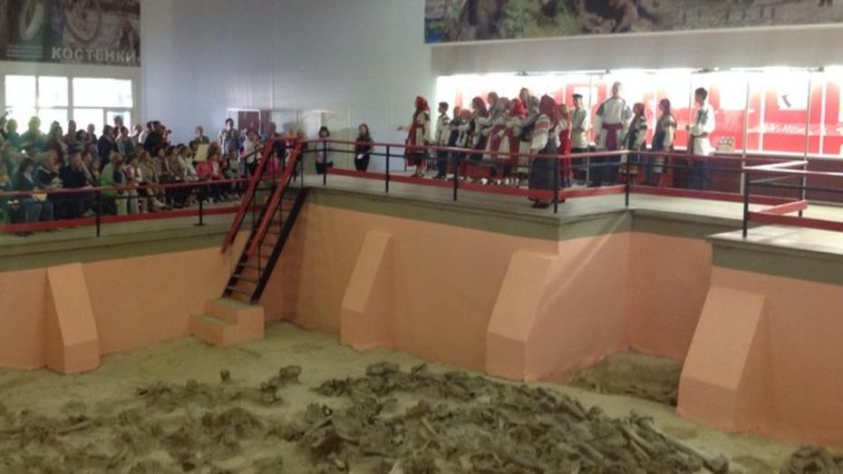 В палеонтологическом музее в Костенках отметили 135 годовщину со дня начала первых раскопок