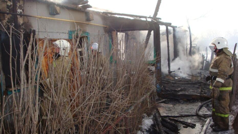 В Нижнедевицком районе при пожаре погиб старик