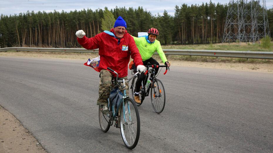 Жители Нововоронежа приняли участие в массовом велопробеге