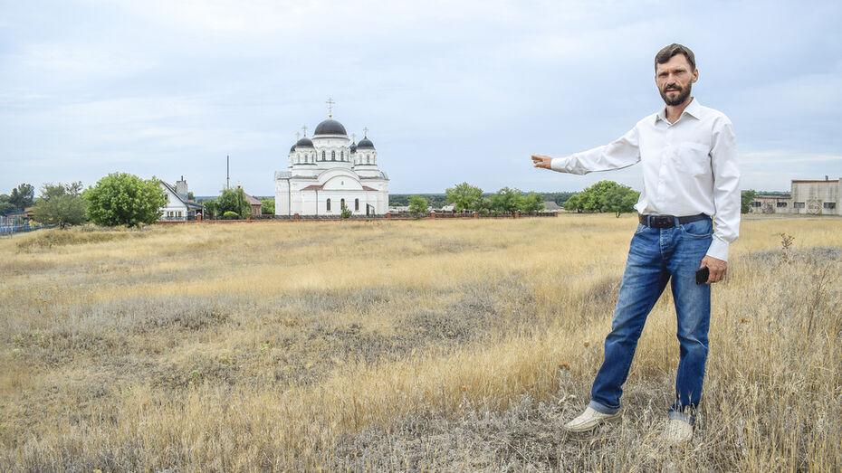 В лискинском селе Масловка построят часовню и парк в честь адмирала Федора Ушакова