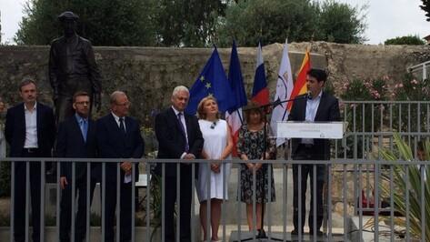 Памятник воронежскому писателю Ивану Бунину открыли во Франции