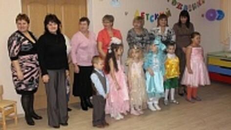 В Новой Усмани в канун Нового года открылись после ремонта два детских сада