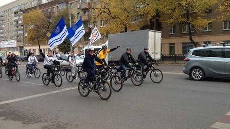 Ректор ВГУ Дмитрий Ендовицкий в честь открытия велопарковки впервые за 25 лет сел на велосипед (ВИДЕО)