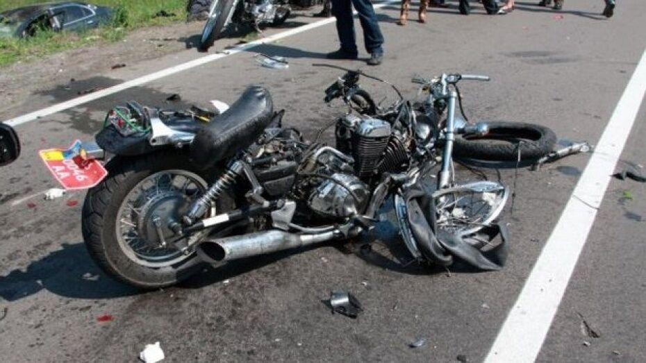 В Грибановском районе 16-летний мотоциклист пострадал в ДТП