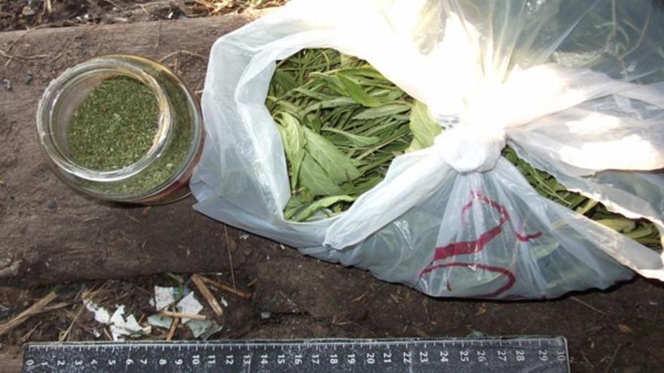 В доме жителя Воронежской области нашли крупную партию марихуаны