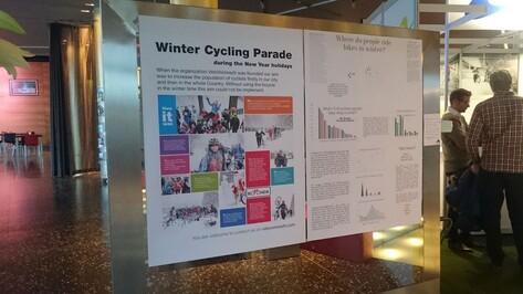 Воронеж представил Россию на международном конгрессе зимнего велосипеда