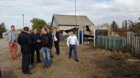 Погорельцам воронежского села предложат новое жилье, квартиру или денежную компенсацию