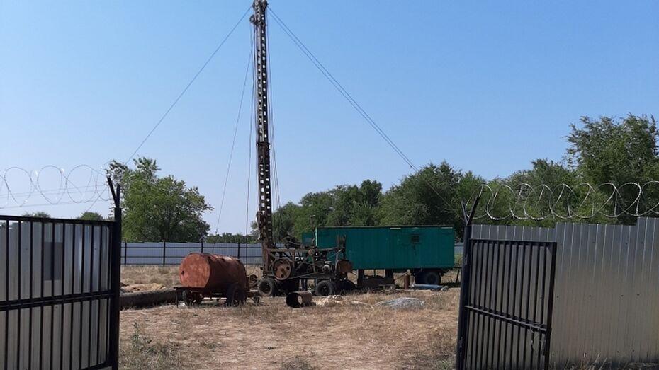 В верхнемамонском селе Приречное начали бурить новую скважину