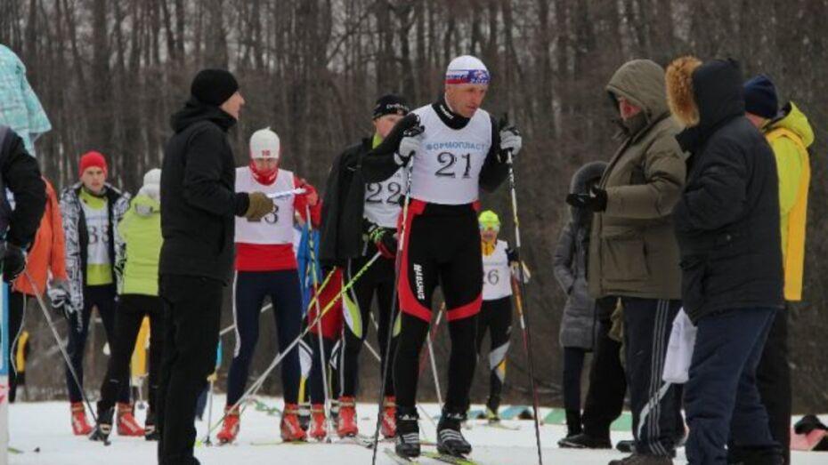Сельские лыжники Воронежской области сразились в Новоусманском районе